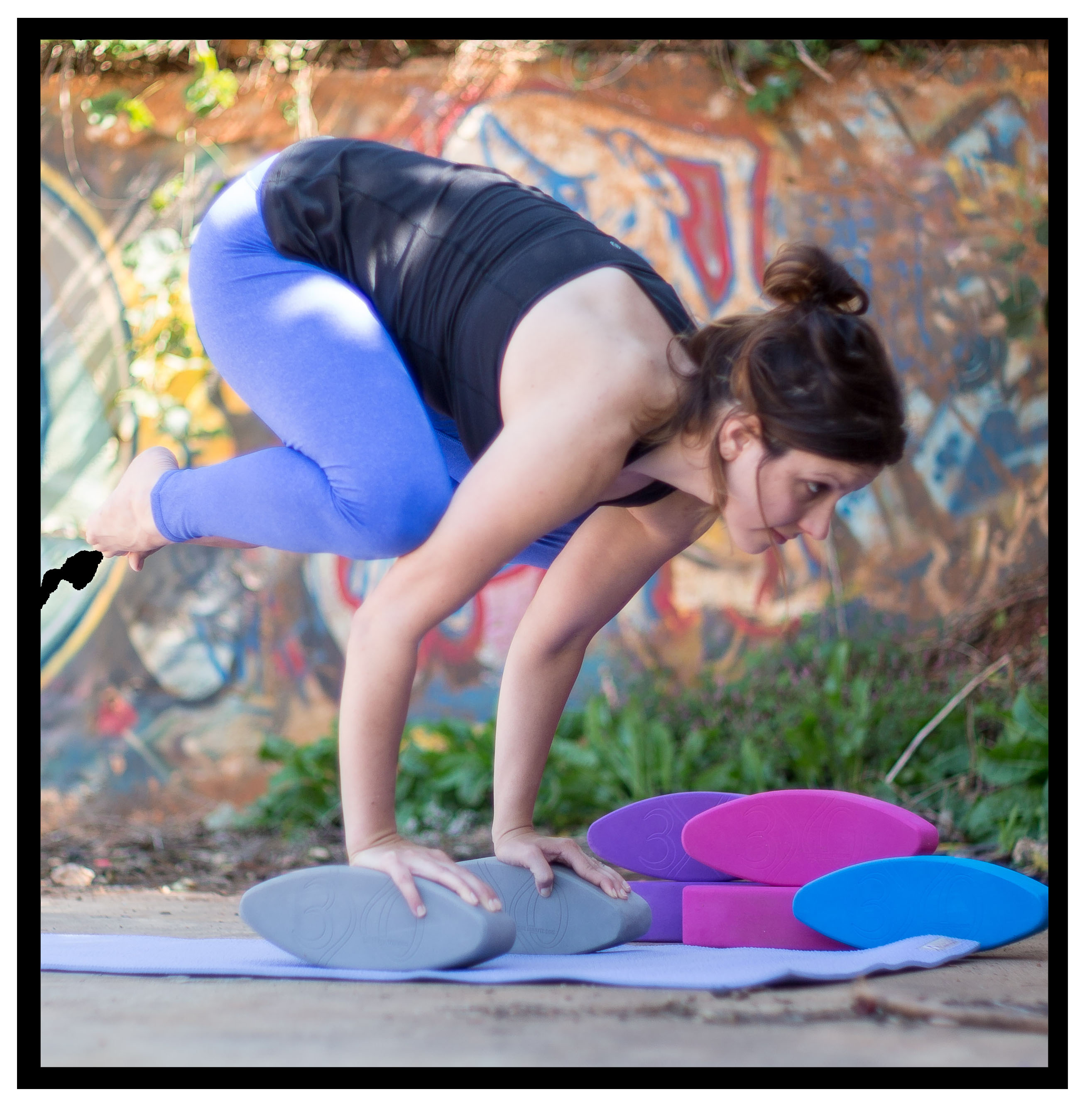 Lindsay Fields Three Minute Egg Yoga Crow Pose Bakasana
