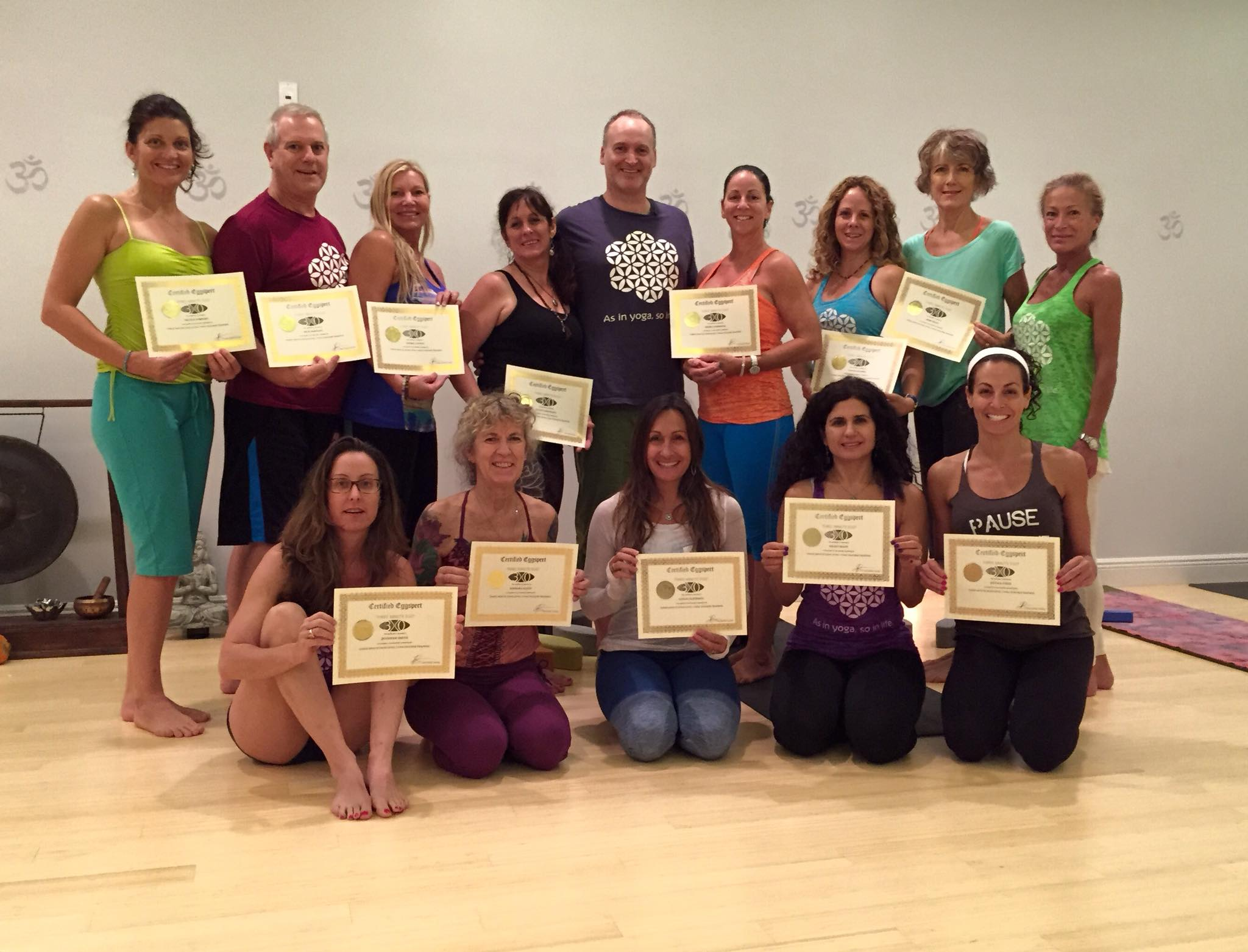Yoga Teacher Training and Certification Level 1 with Three Minute Egg at Yoga Journey in Boca Raton FL